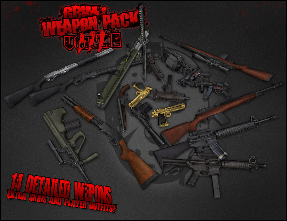 GRIM's Weapon Pack Volume III