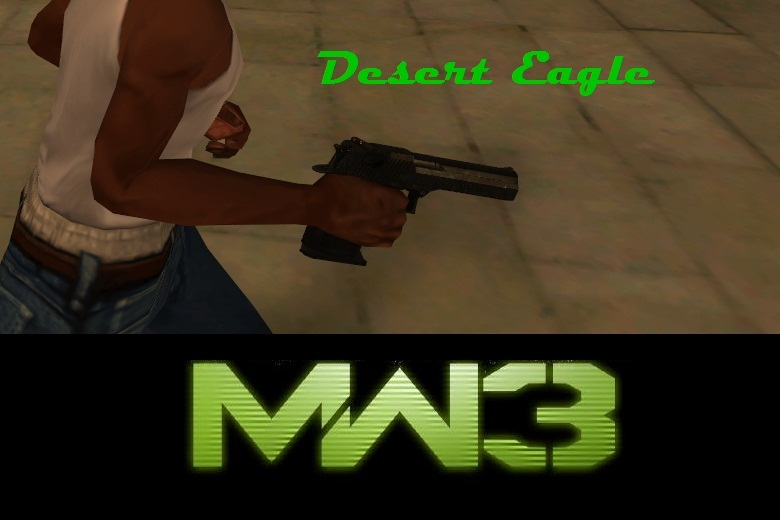 MW3 Deagle