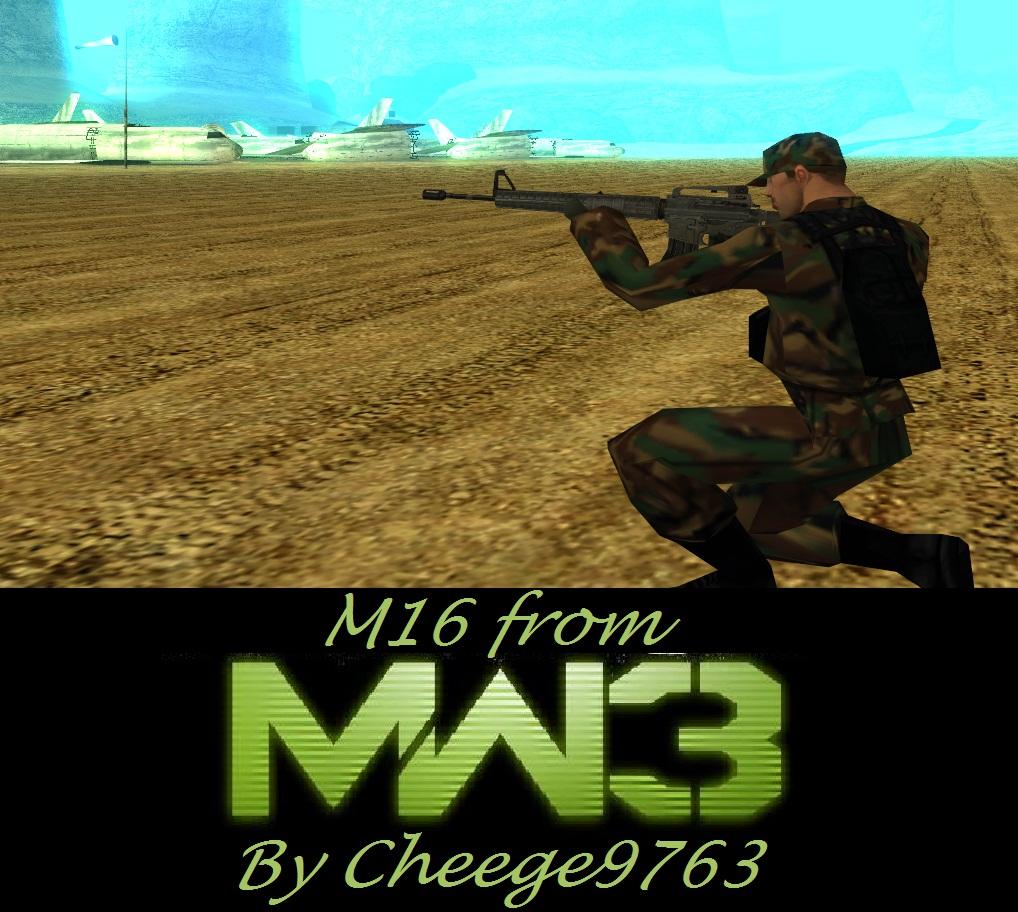 MW3 M16