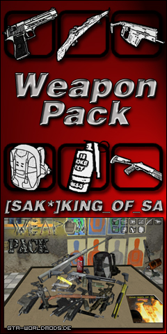 SAK Weapon Pack