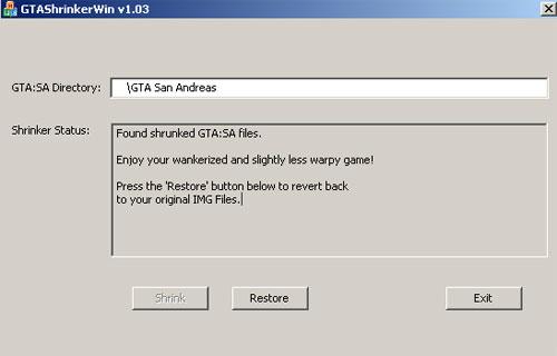Текстурный оптимизатор GTA v. 1.03