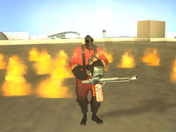 Team Fortress 2 Skin - Pyro