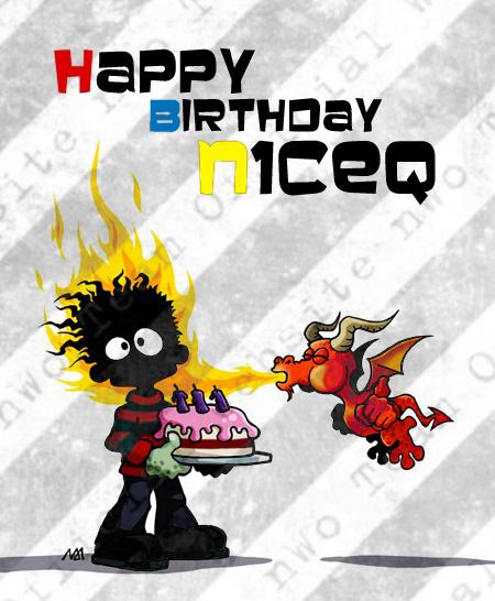 Happy Birthday n1ceQ!