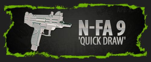 Новинка в «Армасе» — N-FA 9 'Quick Draw'